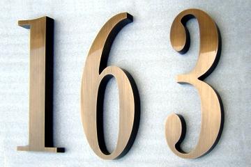 6 Bodoni Condensed Bronze Oxidized